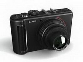 Panasonic Lumix digital camera 3d model
