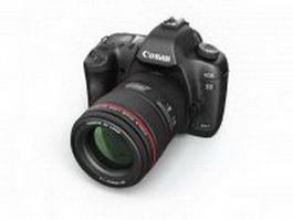Canon EOS 5D Mark II 3d model