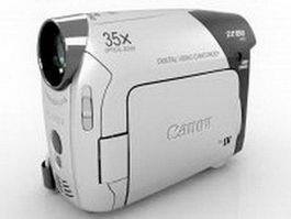 Canon ZR850 consumer camcorder 3d model