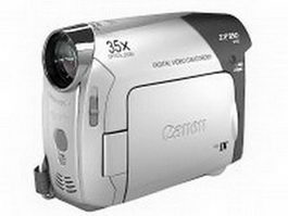 Canon ZR850 video camera 3d model