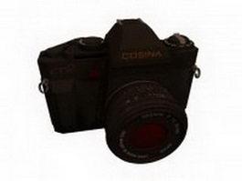 Cosina SLR camera 3d model