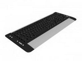 Multimedia keyboard 3d model