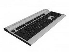 IBM PC keyboard 3d model