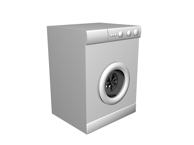 Low poly washer 3d model 3ds max files free download - modeling ...
