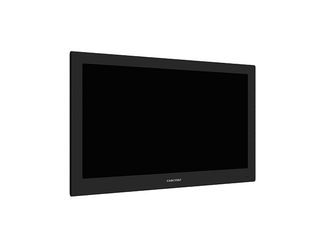 wall mount flat screen television 3d model 3ds max files free download modeling 20083 on cadnav. Black Bedroom Furniture Sets. Home Design Ideas