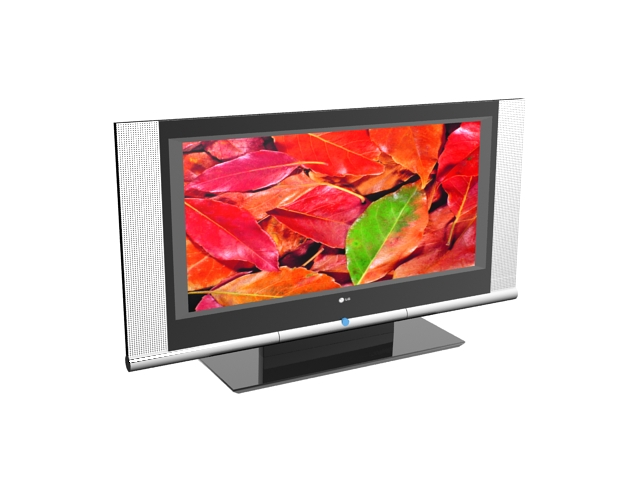 Lg Led Tv 3d Model 3ds Max Files Free Download Modeling 20105 On Cadnav