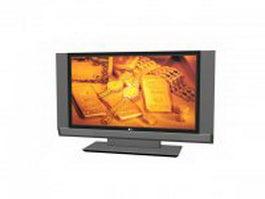 LG LCD TV 3d model