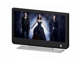 Plasma display panel tv 3d model