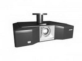 Mini DLP Projector 3d model