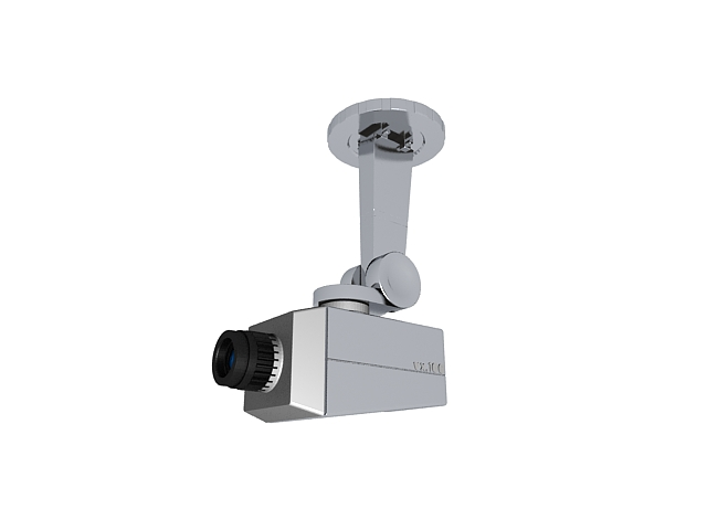 Mock Security Camera 3d Model 3ds Max Files Free Download