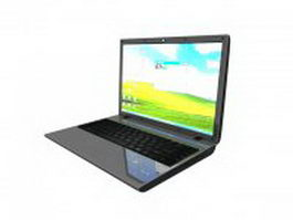 Laptop PC 3d model