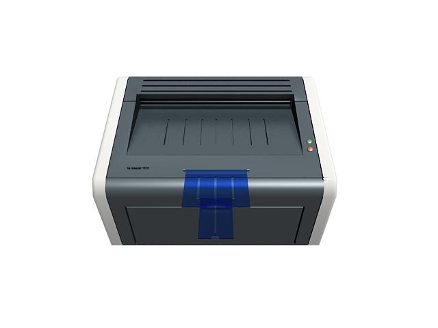 Hp Laser Printer 3d Model 3ds Max Files Free Download