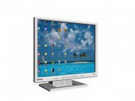 BenQ LCD monitor 3d model