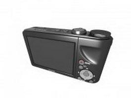 Pocket-size digital camera 3d model