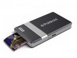 Polaroid mobile printer 3d model