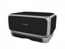 Canon pixma printer scanner 3d model