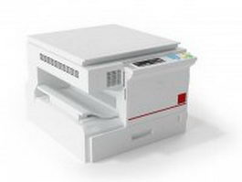 Office MFP Multifunction machine 3d model