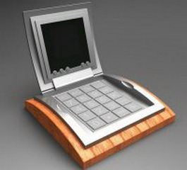 Promotional calculator 3d model