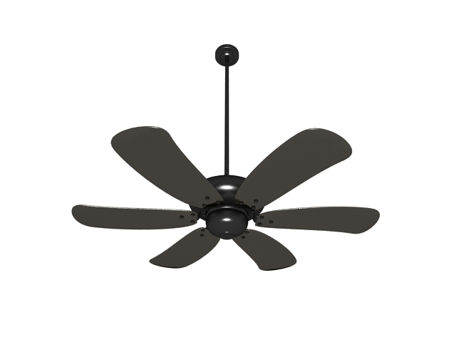 industrial ceiling fan 3d model