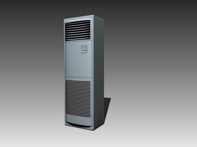 Floor Standing Unit Air Conditioning 3d Model