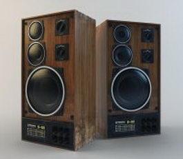 Radiotehnika S90 Speaker system 3d model
