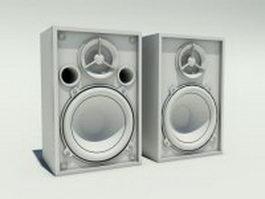 High definition speakers 3d model
