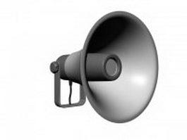 Horn loudspeaker 3d model