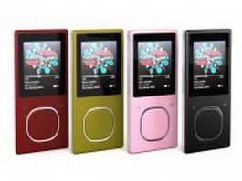 MP3 Players 3d model