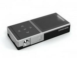 Samsung mobile projector 3d model