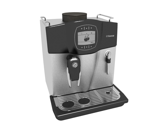 Saeco Coffee Maker 3d Model 3ds Max Files Free Download