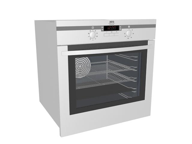 Kitchen steam oven 3d model - CadNav