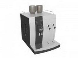 Jura coffee machine 3d model