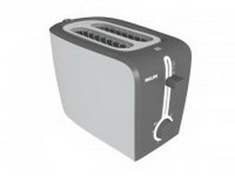 Philips electric toaster 3d model