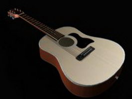Spanish guitar 3d model