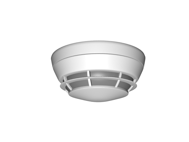 Residential Smoke Detector 3d Model 3ds Max Files Free