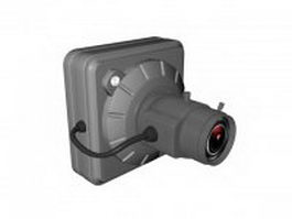 Surveillance video camera 3d model