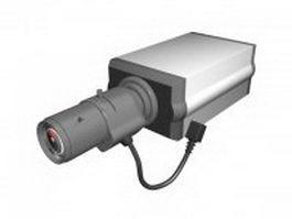 Analog security camera 3d model