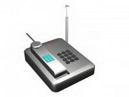 Digital cordless phone 3d model