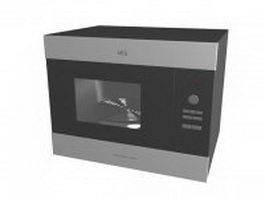 Built-in microwave oven 3d model