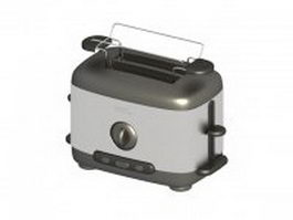 Philips hot dog toaster 3d model