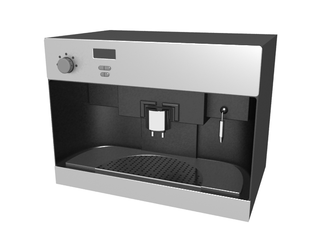 Office Coffee Maker 3d Model 3ds Max Files Free Download