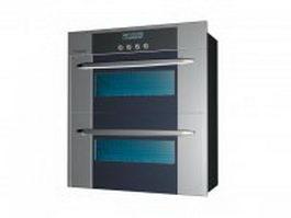 Double oven 3d model