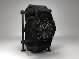 Casio G-Shock watch 3d model