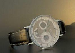 Swiss Breguet luxury watch 3d model
