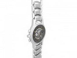 Zenith El Primero wristwatch 3d model