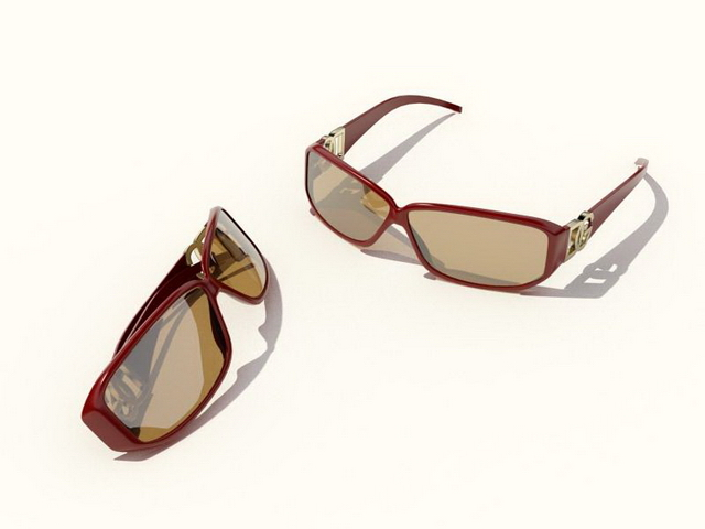 DG womens sunglasses 3d rendering