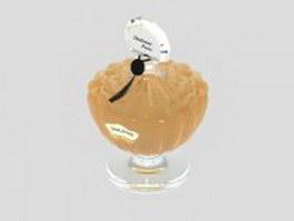 Shalimar Guerlain perfume 3d model