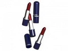 Lumene lipstick 3d model