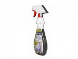 Detergent remover spray 3d model
