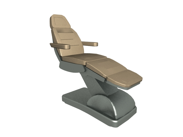 Massage chair recliner 3d model - 49.1KB